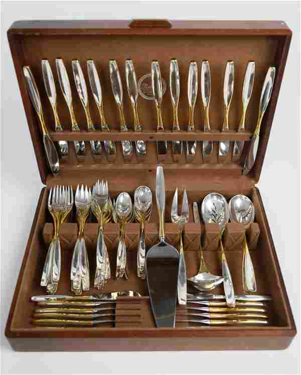 S. Kirk and Son Sterling Silver Flatware Service for 14