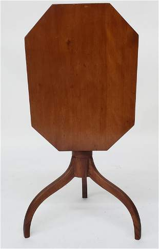 American Federal Cherry Tilt Top Candlestand, early