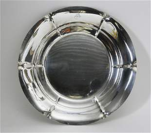 Dominick and Haff Sterling Silver Charger in the Salem