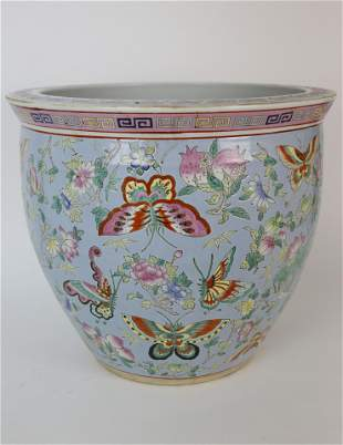 Chinese Porcelain Jardiniere, 20th Century
