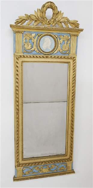 Swedish Gustavian Pier Mirror, circa 1790