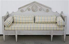 19th Century Gustavian Swedish Daybed