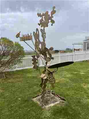 Peter Reginato Modern Welded Steel Sculpture, circa