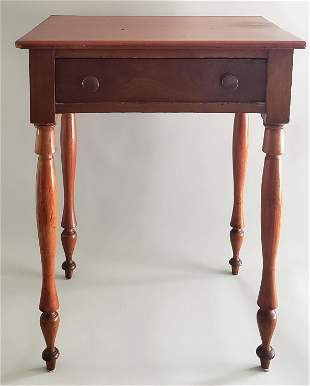 19th Century American Sheraton Cherry Night Stand