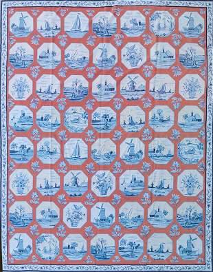 "Diamond & Baratta for Stark Carpet ""Delft China"""