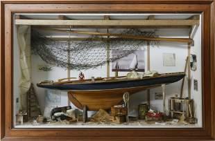 Contemporary Boatyard Shadowbox