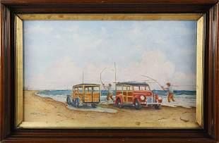 John Hutchinson Watercolor Bonanza at Great Point
