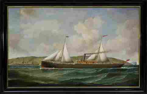 Samuel H. Fyfe Oil on Canvas
