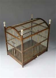 Joseph Clapp Nantucket Antique Whalebone Birdcage