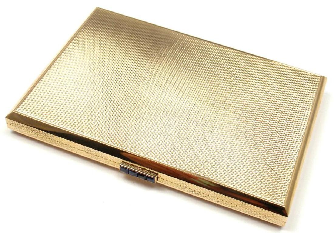 Rare! Vintage VCA Van Cleef & Arpels 18k Gold Sapphire