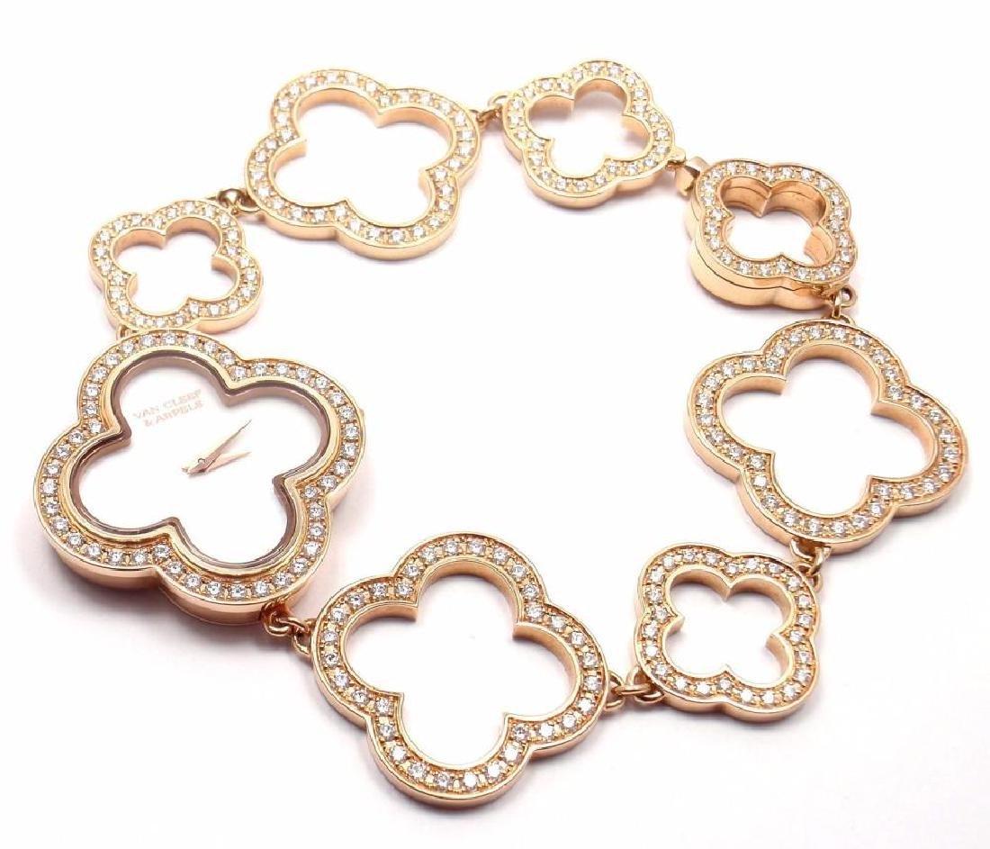 VCA Van Cleef & Arpels Vintage Alhambra 18k Rose Gold