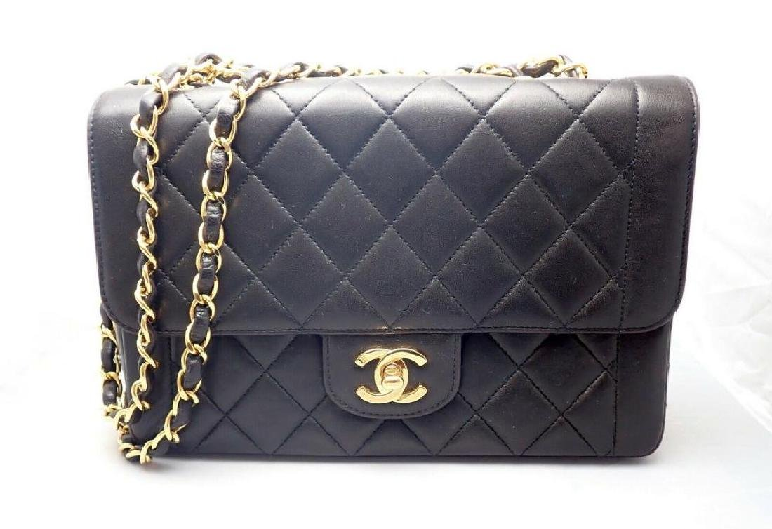 Chanel Diana Quilted Lambskin Single Flap Vintage
