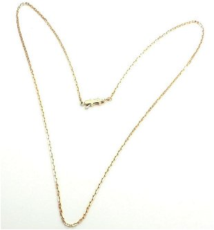 ef8110a176c68 Cartier Fidelity 18k Gold Bar Link Chain Necklace - Sep 22, 2018 ...