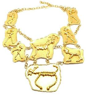 ONE OF A KIND IMPORTANT JEAN MAHIE 22K YELLOW GOLD