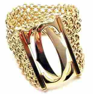 Cartier Penelope 18k Yellow Gold Double C SevenRow