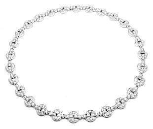Rare! Authentic Cartier Orissa 18k White Gold Diamond