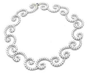 Rare! Authentic Angela Cummings Platinum 34ct Diamond