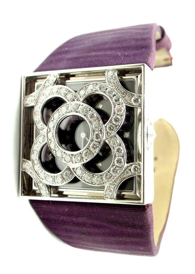 Audemars Piguet Danae 18k White Gold Diamond Satin
