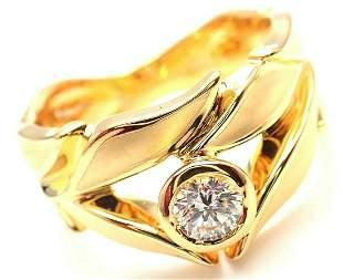 Carrera Y Carrera 18k Mi Princes Greco Roman Diamond