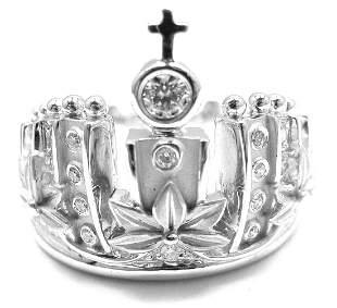 Carrera Y Carrera 18k W/G Mi Princes Russian Crown
