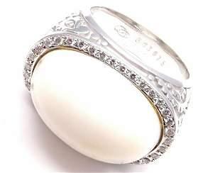 Carrera Y Carrera Aqua 18k White Gold Diamond White