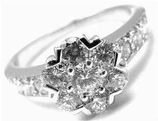 VAN CLEEF & ARPELS 18k White Gold Diamond Small