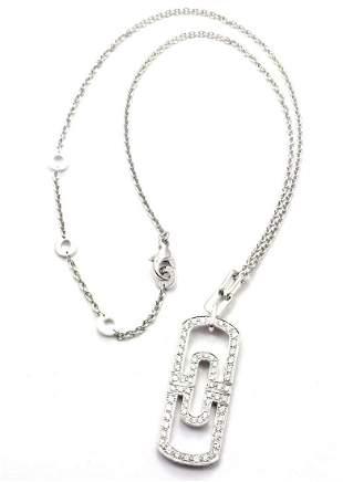 Bulgari Bvlgari Parentesi 18k White Gold Diamond