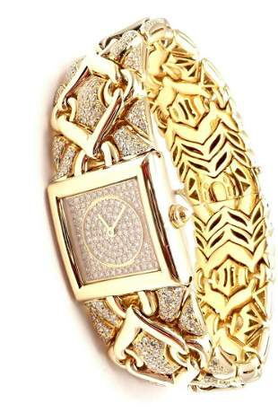Bulgari Bvlgari Trika 18k Yellow Gold Diamond 21mm
