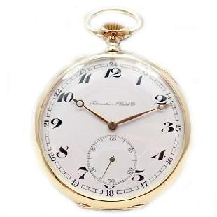IWC International Watch Company 18k Yellow Gold 53mm