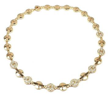 Cartier Himalia 18k Yellow Gold Diamond Necklace Box &