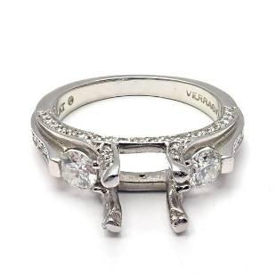 Verragio Platinum Diamond Past Present Future
