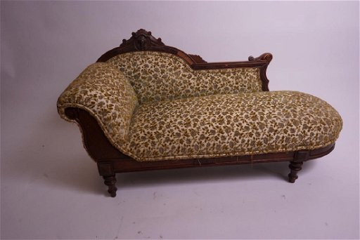 Marvelous Salesman Sample Victorian Chaise Lounge Fainting Couch Forskolin Free Trial Chair Design Images Forskolin Free Trialorg