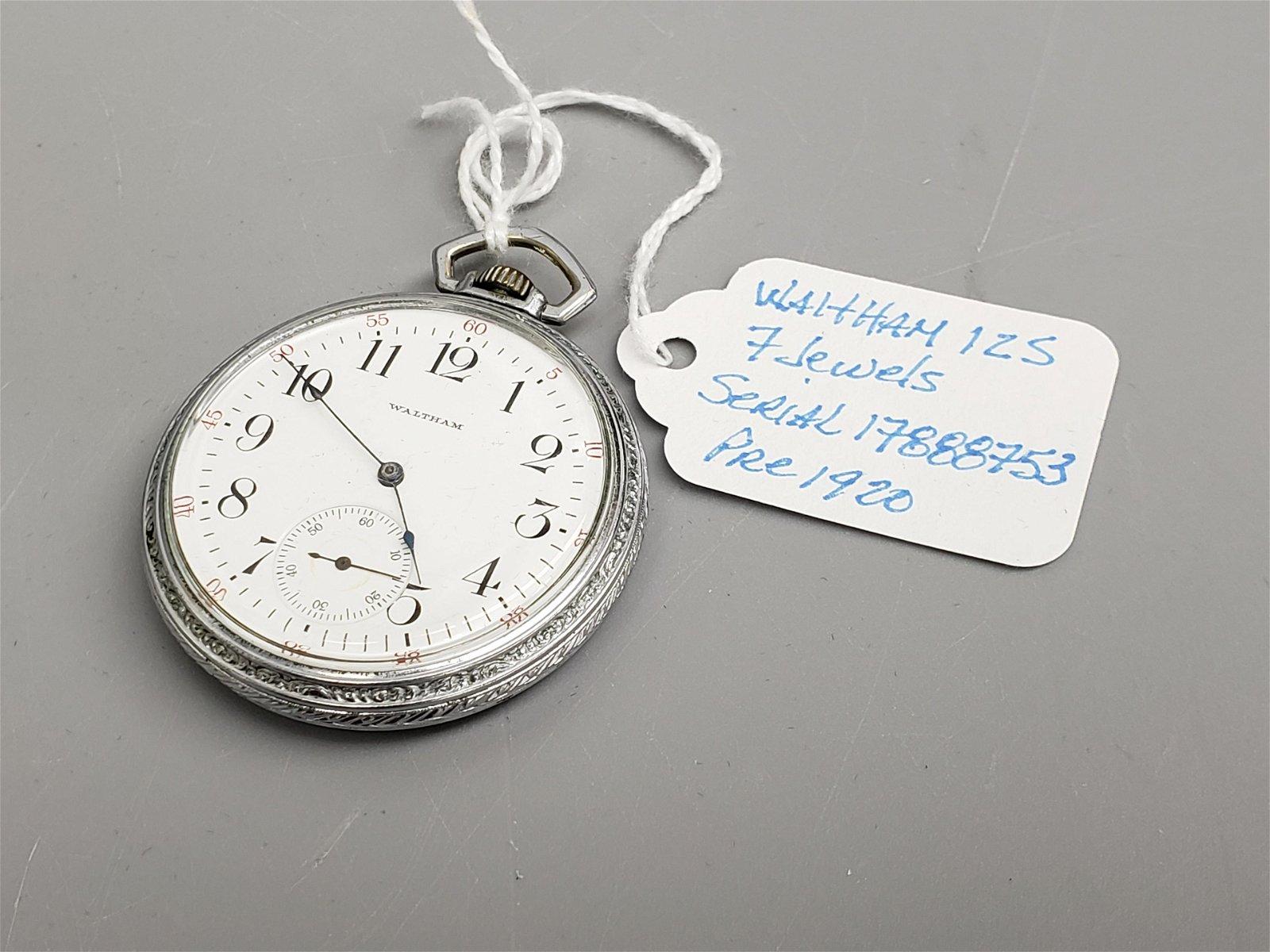 Waltham Pocket watch pre 1920