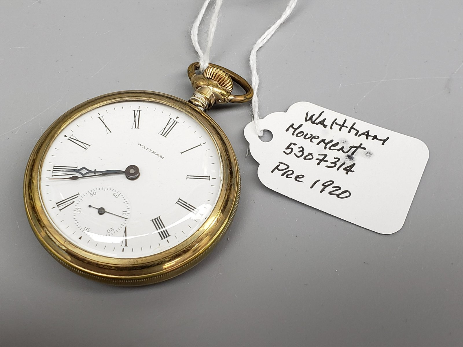 Waltham Pocket watch pre 1920