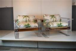 Hans Eichenberger style lounge chairs