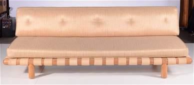 Robsjohn Gibbings Rare Strap Sofa