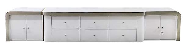 Milo Baughman Cabinet From Joan Collins Collection