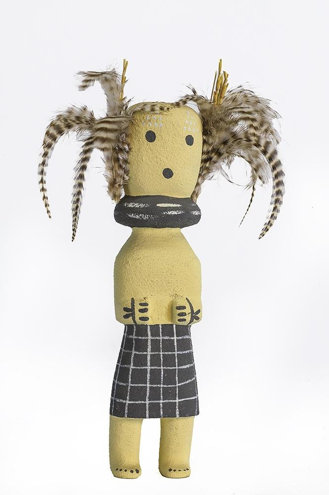 Signed Kachina Doll
