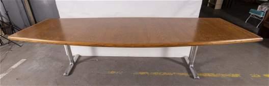 Oswaldo Borsani Style Conference Table