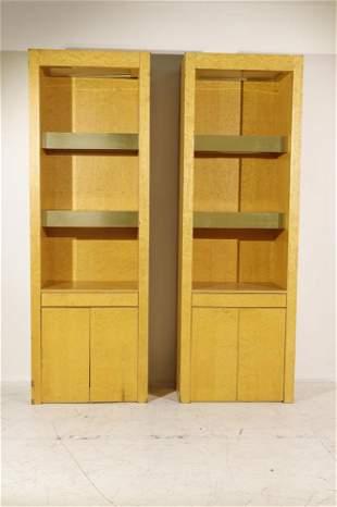 Pair Paul Evans Custom Cabinets
