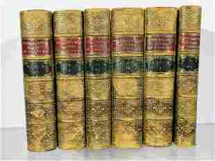 Strickland's Queens of England Leather Bound Books