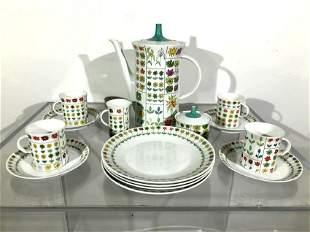 Rosenthal Pucci Style Porcelain Dish Set