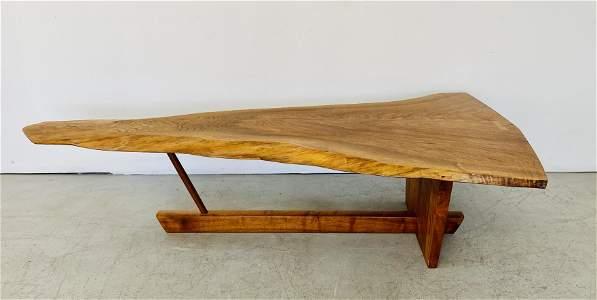 "George Nakashima Studio ""Minguren"" Cocktail Table"