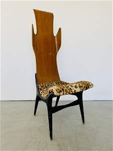 """Rare Dante Latorre for Pozzi & Verga """"Flame Chair"""""""