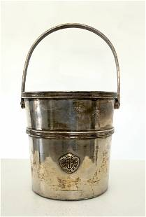 """Silver Plated Ice Bucket from the """"Knickerbocker Hotel"""""""