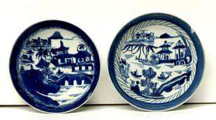 19th Century Chinese Export Plates
