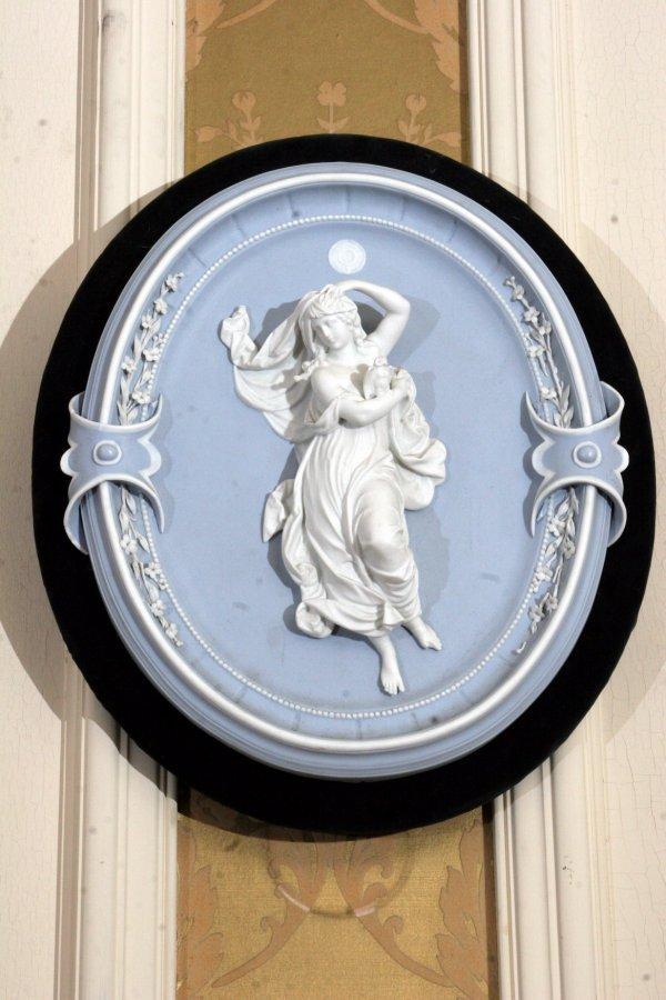 102: 19th Century Porcelain Plaque