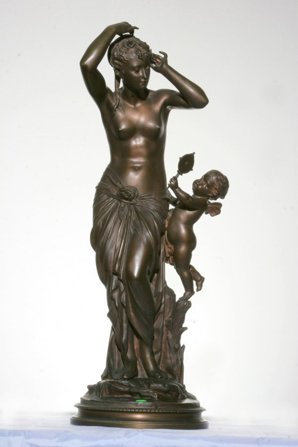 116: Bronze Lady with Cupid