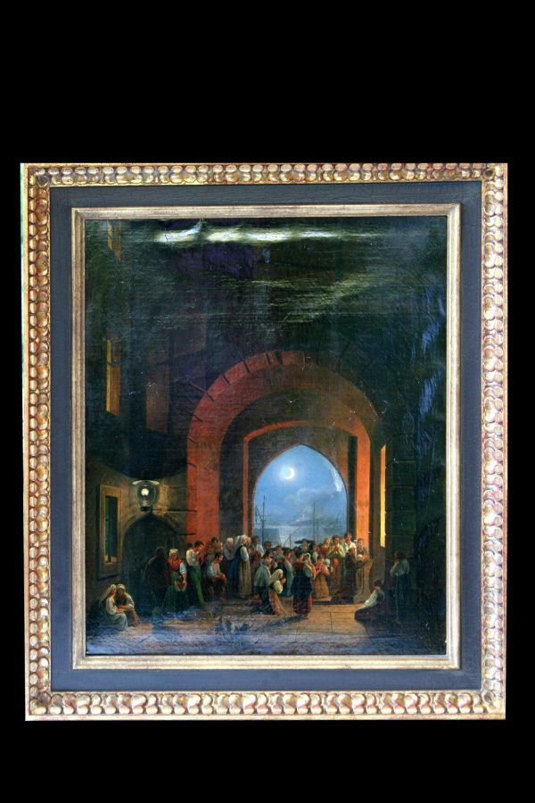 117: 19th Century Oil painting