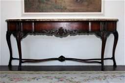 121: Marble Sideboard